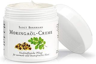 Sanct Bernhard Moringaöl-Creme 100 ml, vitalstoffreiche Pflege für normale und beanspruchte Haut