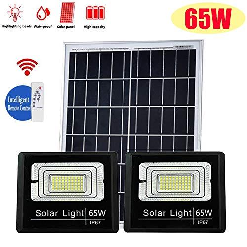 XP Luces Solares de Inundación La Luz De Inundación del Sensor De Luz 25W / 40W / 65W LED Solar Proyectores Exterior Impermeable Al Aire Libre Terraza Y Jardín Iluminación Luz De Emergencia