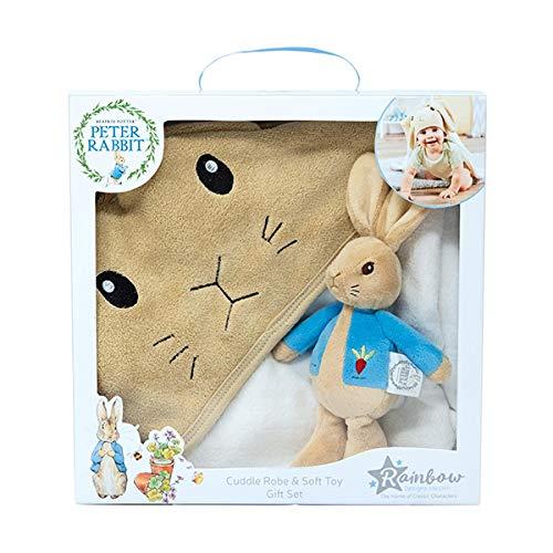 Peter Rabbit PO1600 - Juego de Albornoz y Peluche