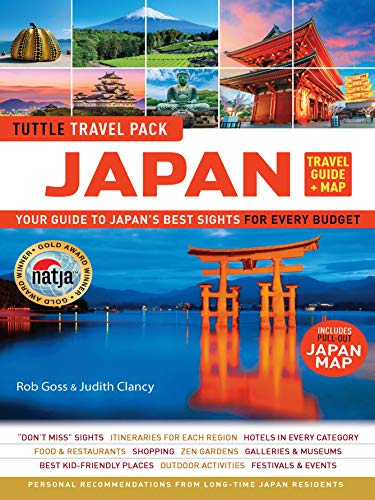 Japan Travel Guide & Map Tuttle Travel Pack: Your Guide to Japans ...
