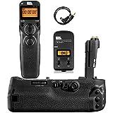 Pixel BG-E20 Batterie Grip Poignée d'alimentation + Télécommande pour Canon Eos 5D...