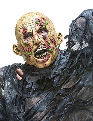 DEGUISE TOI - Masque Latex Zombie putréfié Adulte - Taille Unique