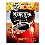 NESCAFÉ Café Classic Soluble Natural, Sobres, Paquete de 12x10 Sobres cada uno de 2g de Café - Total 120 sobres+G221