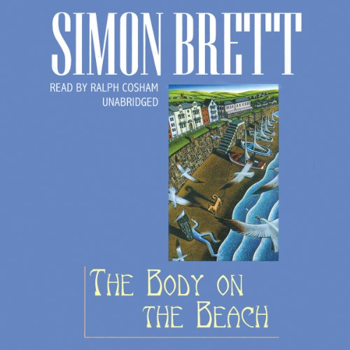 The Body on the Beach audiobook cover art