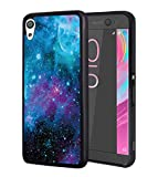Sony Xperia XA Ultra Case,BWOOLL Slim Anti-Scratch Rubber Protective Cover for Sony Xperia XA Ultra (6 inch) - Galaxy Nebula