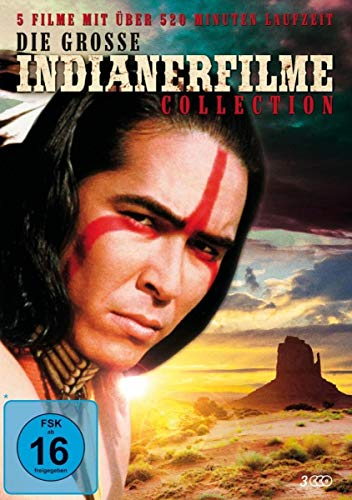Die große Indianerfilme Collection [3 DVDs]
