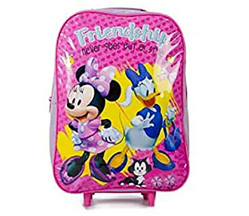 Trolley per bambini, zaino Disney Toy Story Frozen Spiderman Rosa Minnie e margherita. small