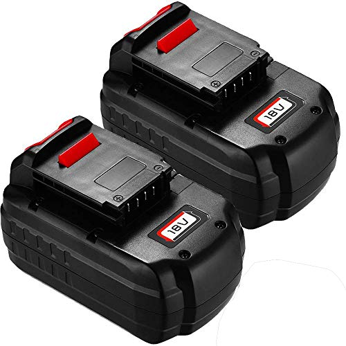 Upgraded 2 Pack 18V Ni-MH 3.6Ah PC18B Replacement Battery Compatible with 18-Volt Porter Cable PCC489N PCMVC PCXMVC PC18B-2 Batteries