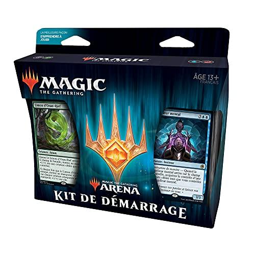 Magic The Gathering Kit de démarrage MTG Arena 2021, 2 decks prêts-à-jouer-Exclusivité Amazon