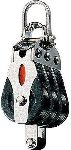 Ronstan Series 20 ll Bearing Block Triple BECKET 2-axis Shackle Head Bügelschloss