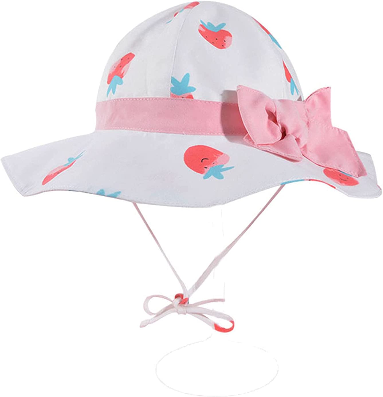 Baby Girl Sun Hat with UPF 50+ Outdoor Adjustable Summer Beach Hat Hats Sun Protection Hats Toddler Infant Sun Hat