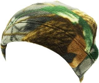 MB-LANHUA Mens Inverno Caldo Esterno in Pile Finto Tondo Melone Cappello Mimetico Mimetico Tinta Unita Antivento Militare tattico Berretto Teschio Berretto Mimetico 1