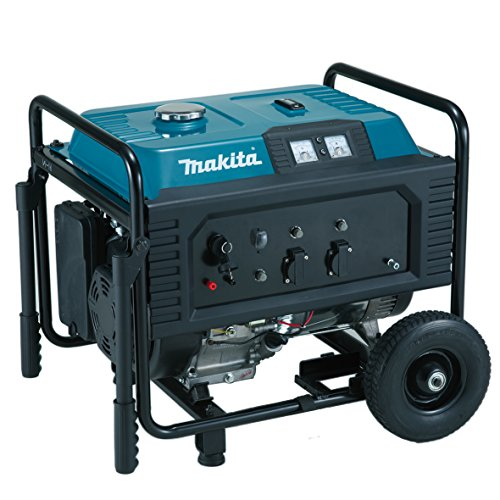 Makita EG6050A Stromerzeuger 6,0 kVA, Schwarz, Blau