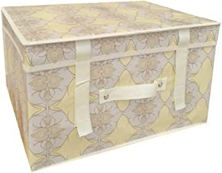 PPCP Storage Box Waterproof Folding Storage Box Large Storage Box (Color : Beige)