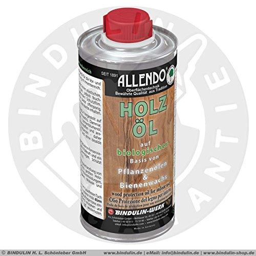 Holz-Schutz-Öl innen Antik-Wachs-Öl-Kombination und Natur-Harzlösungen inkl.1 Pinsel zum Auftragen (250 ml)