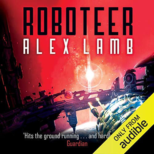 Roboteer audiobook cover art