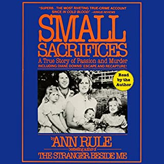 Small Sacrifices audiobook cover art