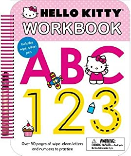 Hello Kitty( Workbook ABC 123)[HELLO KITTY WORKBK ABC 123][Spiral]