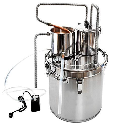 Kayla-lan Zuhause Rostfreier Stahl Wein Wasseraufbereiter Maschine (13Gal / 50L)