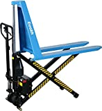 Eoslift I10E Electric Scissor High Lift Pallet Jack Truck, 2200 lb.
