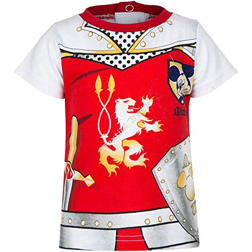 Mickey Mouse Baby Jungen (0-24 Monate) T-Shirt Blau Blanc/rouge 23 mois