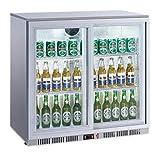 Flaschenkühlschrank 208 Liter Getränkekühlschrank Barkühlschrank Gastro Gewerbe Kühlschrank