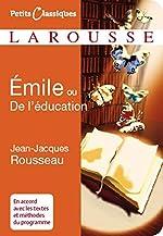 Émile ou De l'éducation de Jean-Jacques Rousseau
