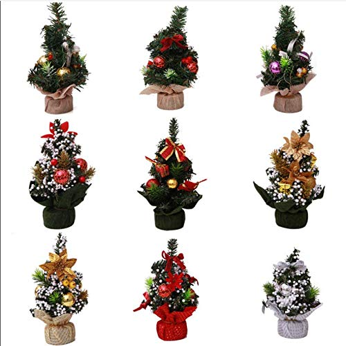 Tabletop Christmas Tree, Mini Christmas Tree for Christmas Decorations (9)