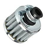 Filtro de entrada de aire frío de 13 mm para motor de coche, universal,...