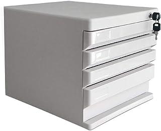 KANJJ-YU Dépôt tiroirs Mini Classeur tiroirs Fourniture de bureau de bureau Boîte de rangement (Couleur: Blanc, Taille: 36...