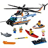 LEGO City Coast Guard Heavy-Duty Rescue Helicopter 60166 Building Kit (415 Piece) helicopter Apr, 2021