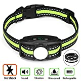 Best Dog Bark Collars - Bark Collar No Shock Bark Collar Rechargeable Anti Review