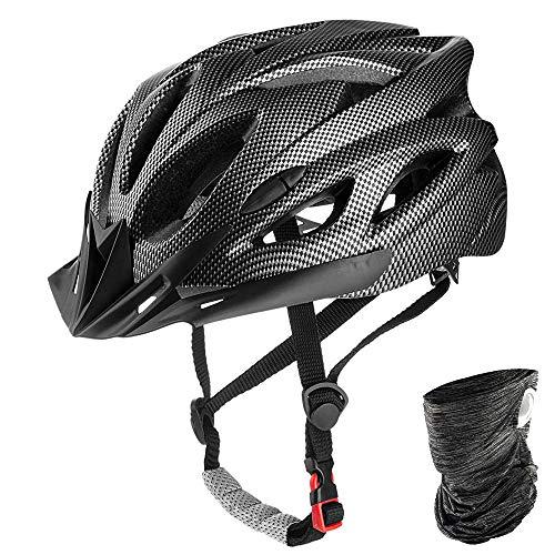 HADLIN Bike Helmets Adult Adjustable Mountain Road Bicycle Helmet for Mens Womens