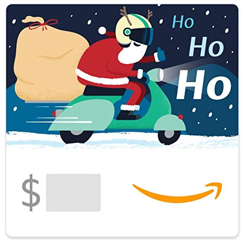 Amazon eGift Card -Scootin' Santa