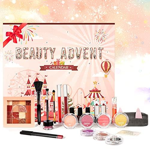 calendario avvento w7 Calendario dell'Avvento Beauty 2021 Calendario Avvento Makeup - Calendario Conto alla Rovescia Natale Set da 24 Prodotti per Occhi
