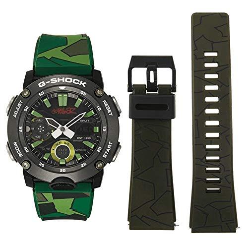 Gorillaz X G-Shock Limited Edition Orologio Digitale Multifunzione Ga-2000gz-3aer