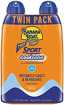 2-Pack Banana Boat Sunscreen Sport Performance Coolzone, 6 Ounce