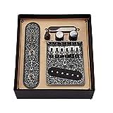 DierCosy Tools Guitarra Pastillas Pastillas mástil de Telecaster con 6 Puente de la Secuencia de una Silla Placa para Telecaster Guitarra Eléctrica