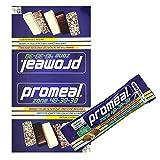 Volchem Promeal 12 Barrette Proteiche da 50 gr. per Dieta a Zona 40-30-30 GUSTO COOKIE (BISCOTTO)