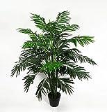 Seidenblumen Roß Arekapalme 120cm ZJ künstliche Pflanzen Palmen Palme Kunstpalmen Kunstpflanzen Dekopalme