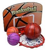 develop どこでもバスケット ボール ゴールセット 壁掛け スポーツ 運動 自主練 遊び
