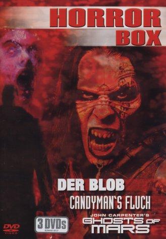 Sony - Horror Box Blob Candyman`s Fluch Ghost of Mars - DVD-Filme