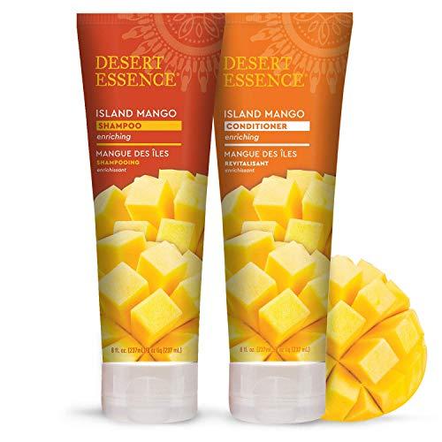 Desert Essence - Shampooing et Après-Shampooing à la Mangue des Iles - Pack duo - 2 x 237mL