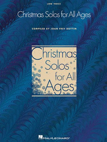 Christmas Solos for All Ages - Low Voice: Low Voice