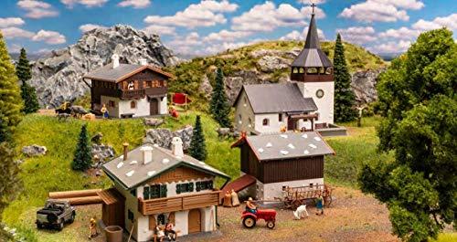 Faller 190075 Aktions-Set Schweizer Dörfli