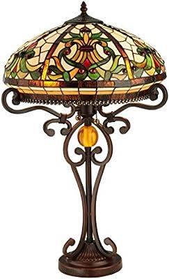 Dale Tiffany Tt101114 Boehme Table Lamp Antique Golden