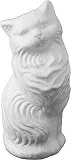 White Kitty-Cat Money Bank: Large Blow-Mold - Classic Retro Design by Fantazia Marketing