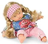 Götz 1987229 Poupée Mini-Muffin Roses Garden - Poupon de 22cm avec des Yeux Peints en Brun et des Cheveux blonds - Poupée au Corps Souple dans Un Set de 4pièces - À partir de 18Mois