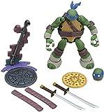 SNFHL Tortugas Ninja Mutantes Adolescentes, Estatua PVC Juguete Modelo Personaje Dibujos Animados, Juguete Coleccionable, Cumpleaños de Niños 5.5 Pulgadas