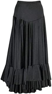 5706c8e5d69 selecte-plus Jupe Enfant de Flamenco 2 Volants Noirs